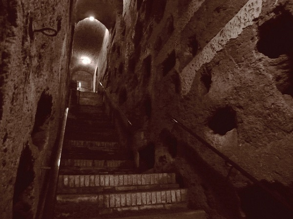 Catacombe de Saint - Calixte