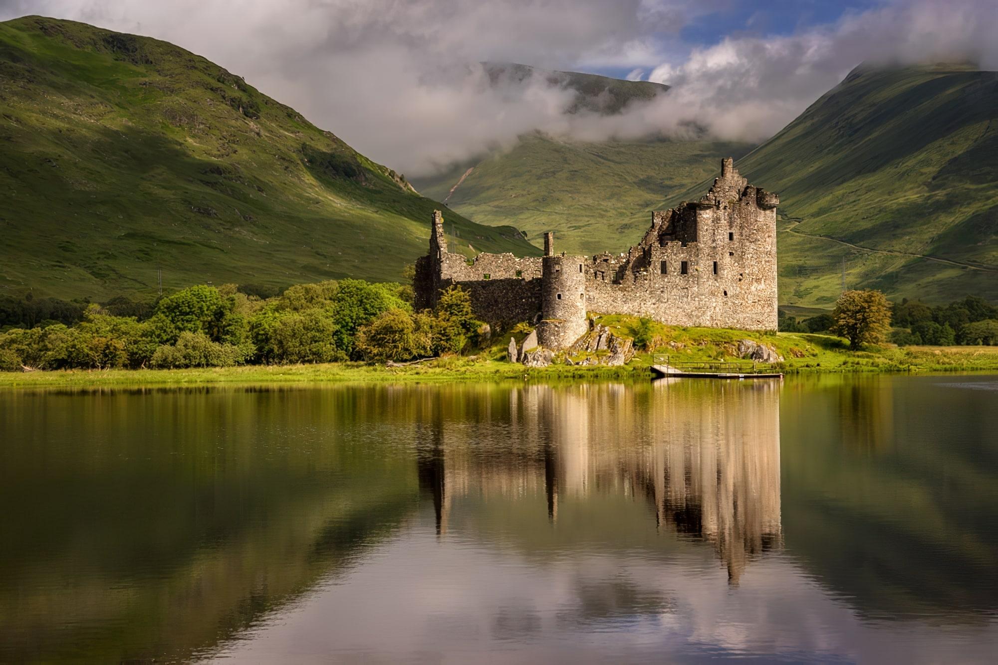 Château de Kilchurn à Loch Awe, Highlands, Écosse