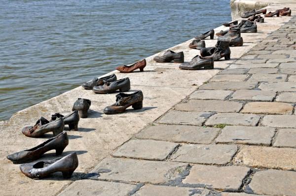Les Chaussures au bord du Danube à Budapest