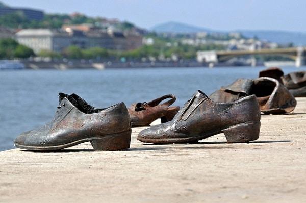 Chaussures du Danube, monument aux juifs, Budapest