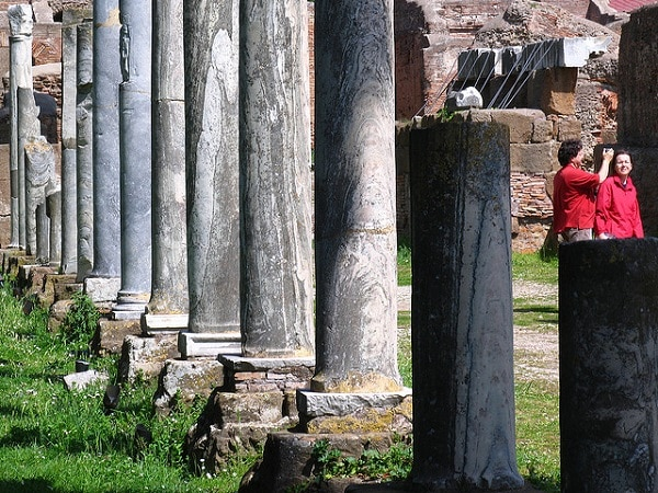 Colonne Ostia Antica