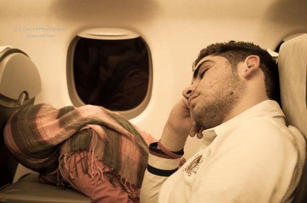 Comment mieux dormir dans un avion ?