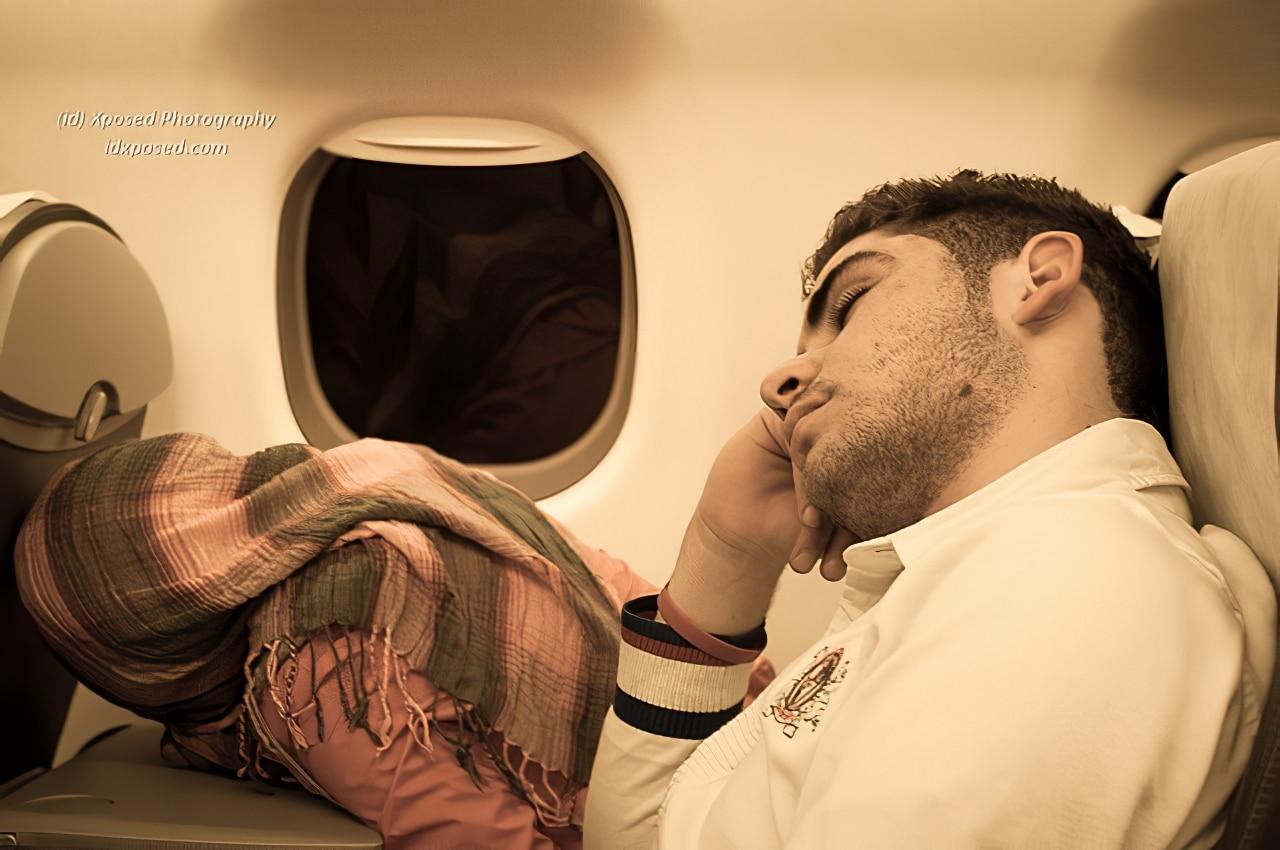 Conseils pour mieux dormir en avion