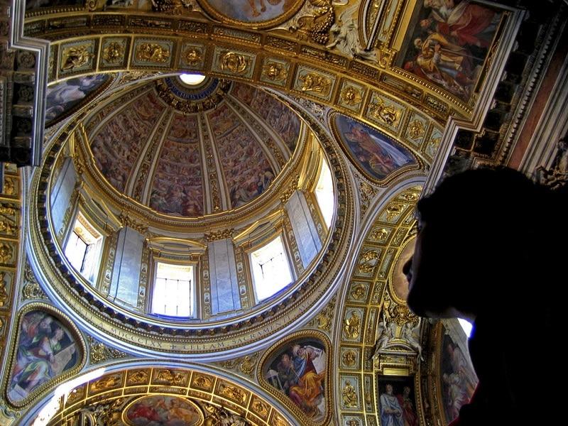 Coupole de la basilique Saint-Pierre au Vatican