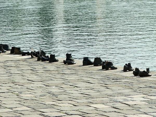 Danube Chaussures juifs Budapest