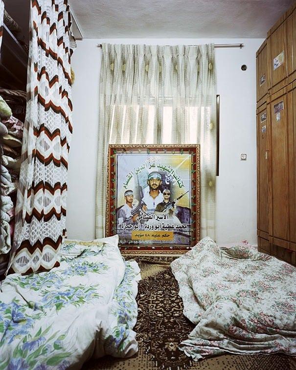 Douha Hébron chambre