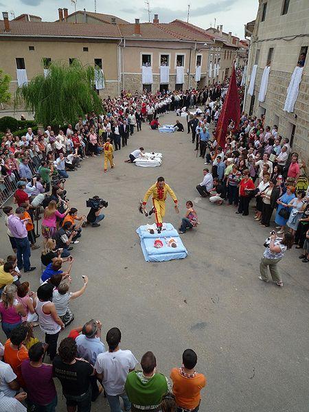 El Salto del Colacho, festival Espagne