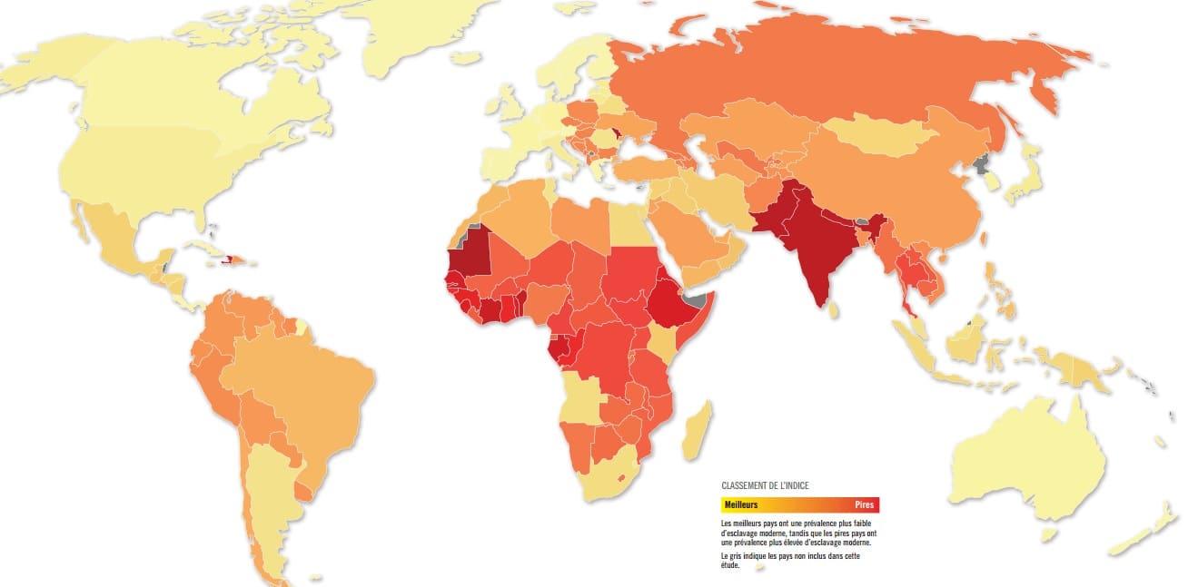 Esclavage dans le monde