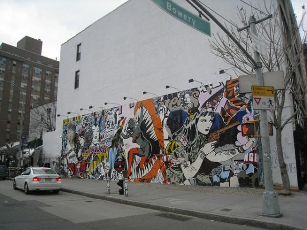 Faile Bowery Wall