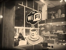 Free wifi cafe, international