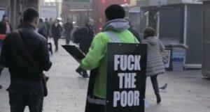campagne contre les pauvres
