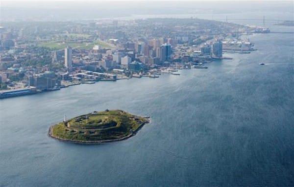 Georges Island Halifax Canada