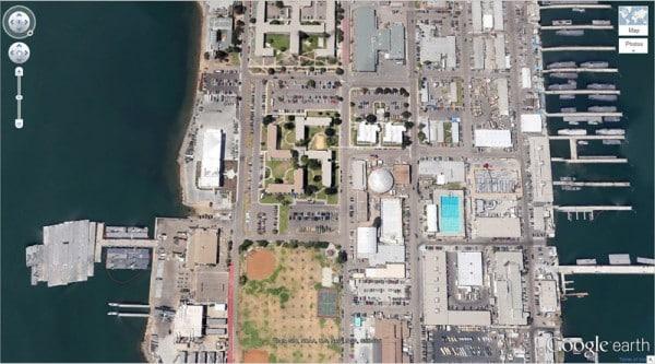 Google Earth insolite