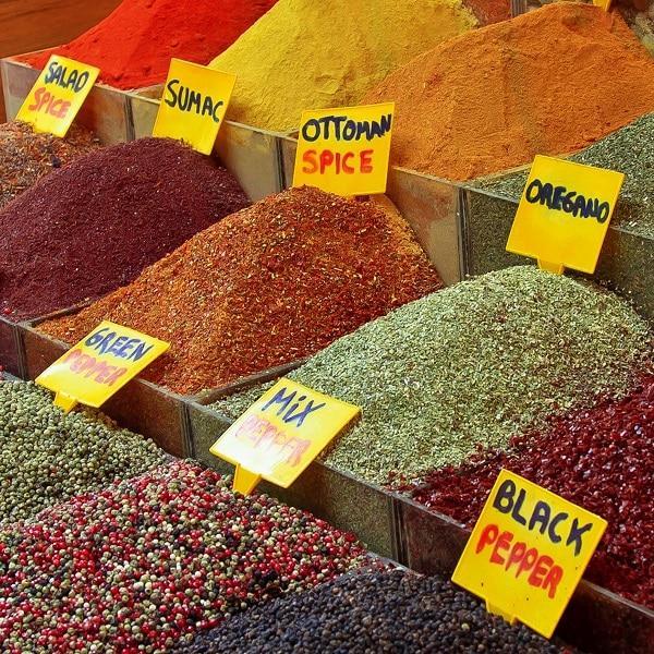 Grand Bazar Istanbul épices