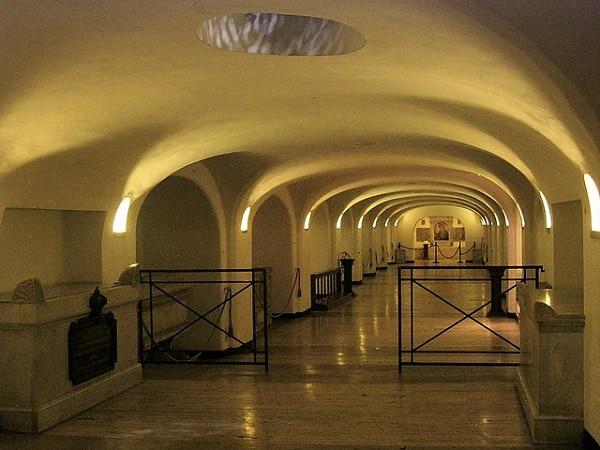 Grottes Sacrées Vatican