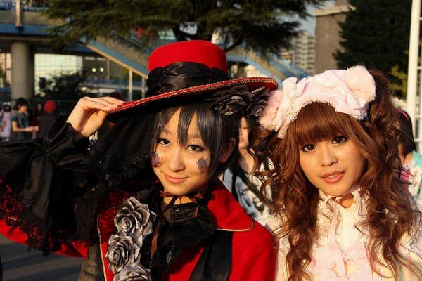 Harajuku lolita Tokyo