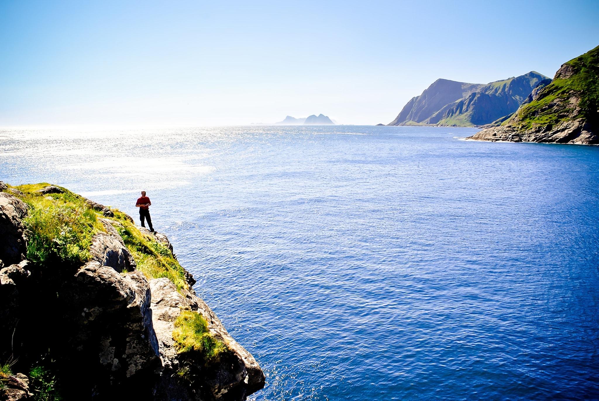 L'archipel des îles Lofoten en Norvège