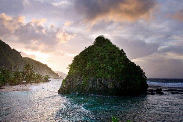 Îles Samoa armée