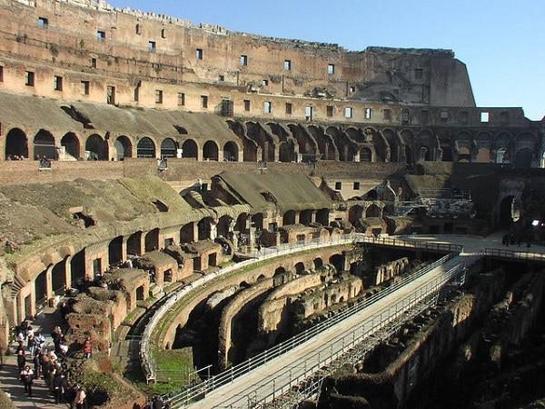 Intérieur Colisée Rome