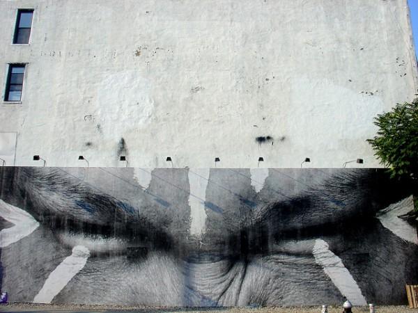 JR Bowery Mural
