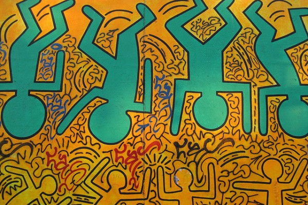 Keith Haring Tribute Wall Browery