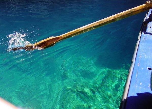 Lac Melissani Grèce