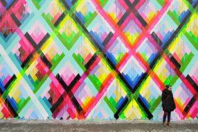 Maya Hayuk Bowery Wall