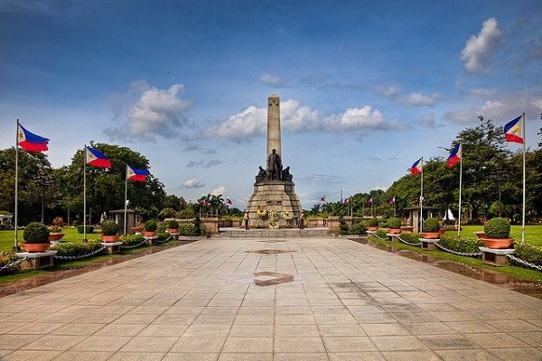 Monument Rizal Manille