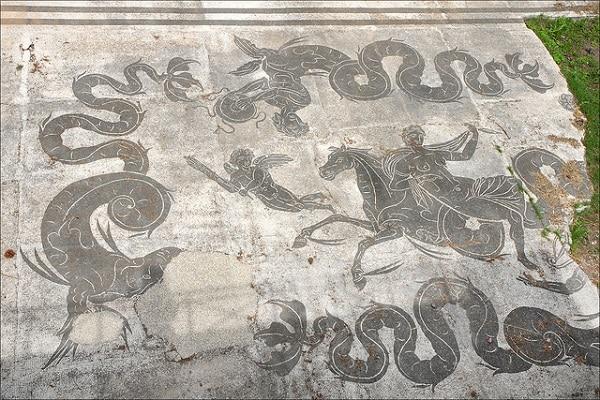 Mosaïque Ostia Antica