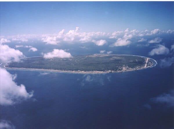 Nauru armée