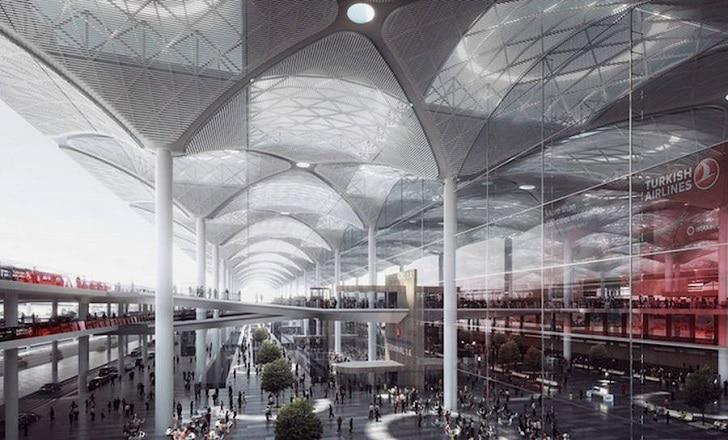 Les images du plus grand terminal aéroportuaire du monde ont été dévoilées