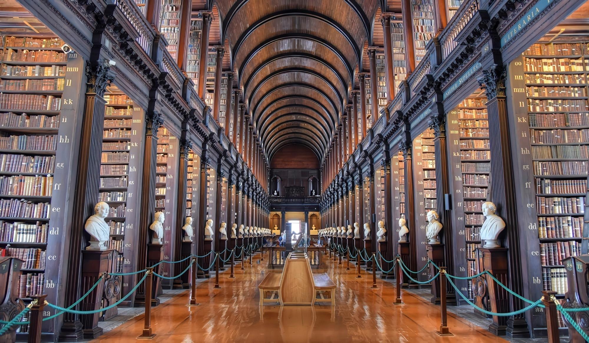 Old Library au Trinity College de Dublin