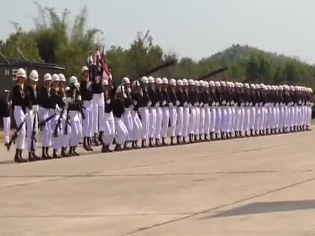 Cette parade en Thaïlande est bluffante