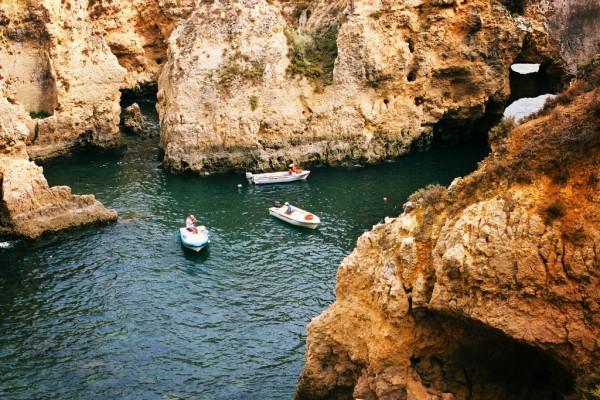 La Ponta da Piedade, à Lagos en Algarve