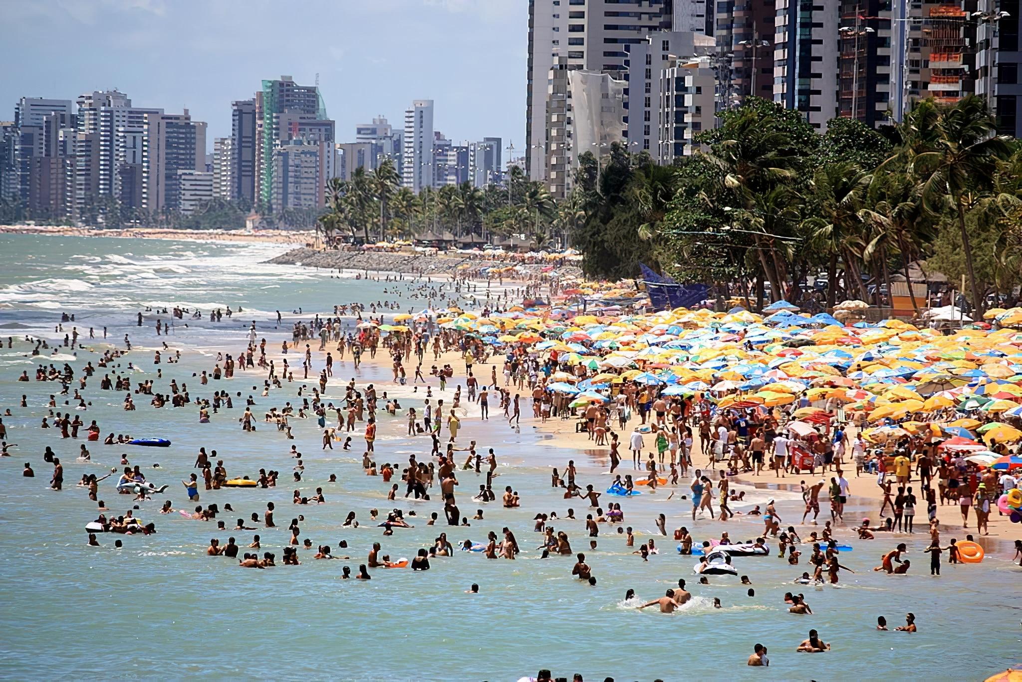 Plage de Recife, Brésil