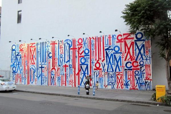 Retna Bowery Wall