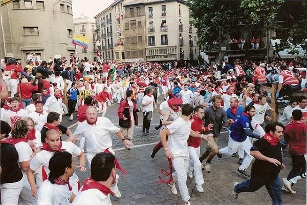 San Fermín festival Espagne