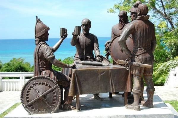 Sandugo Monument Bohol