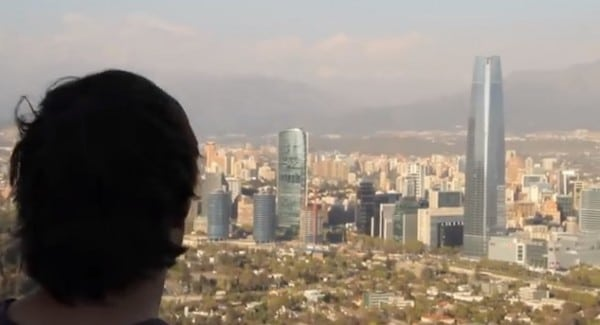 Une vidéo qui donne envie de partir à Santiago de Chile !