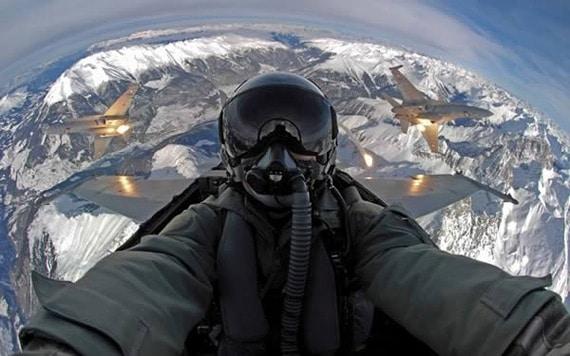 Selfie Avion