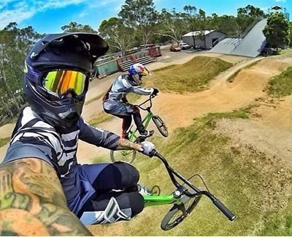Selfie BMX
