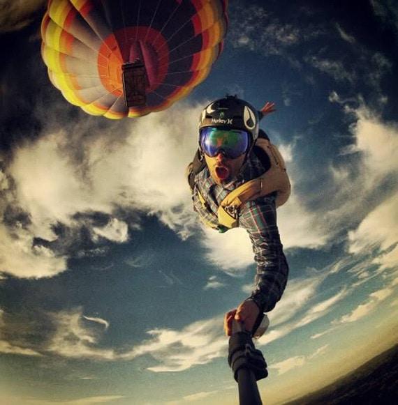 Selfie Montgolfiere