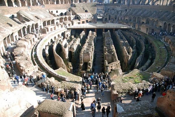 Sol du Colisée Rome