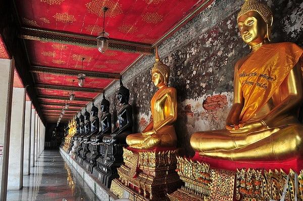 Statues bouddha Wat Pho