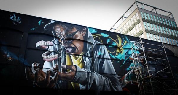 Street-art Bristol