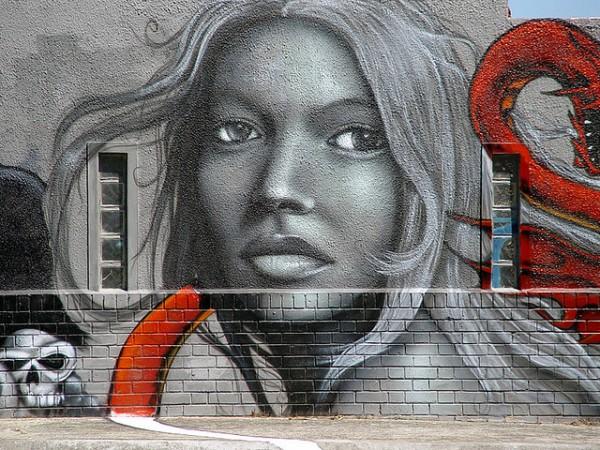 Street-art Le Cap