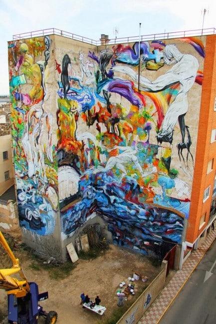Street-art Quintanar de la Orden