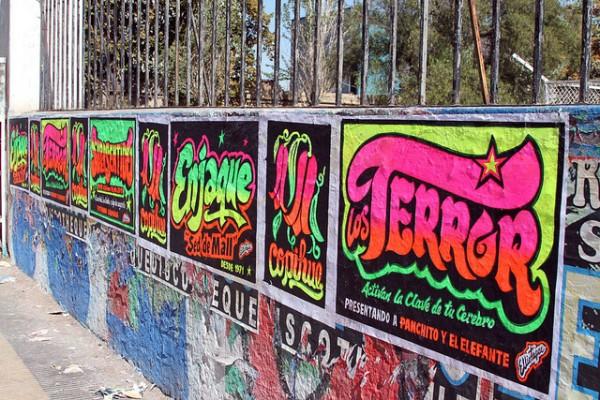Street-art Santiago