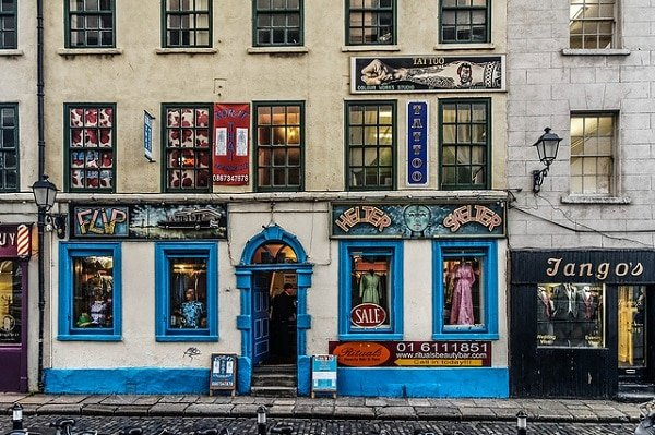 Temple Bar tattoo Dublin