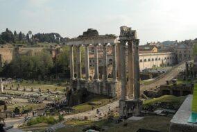 Temple de Saturne - Rome
